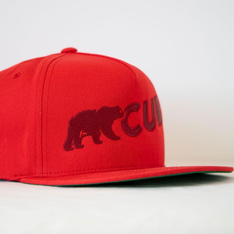 BearCub Snapback (Red)