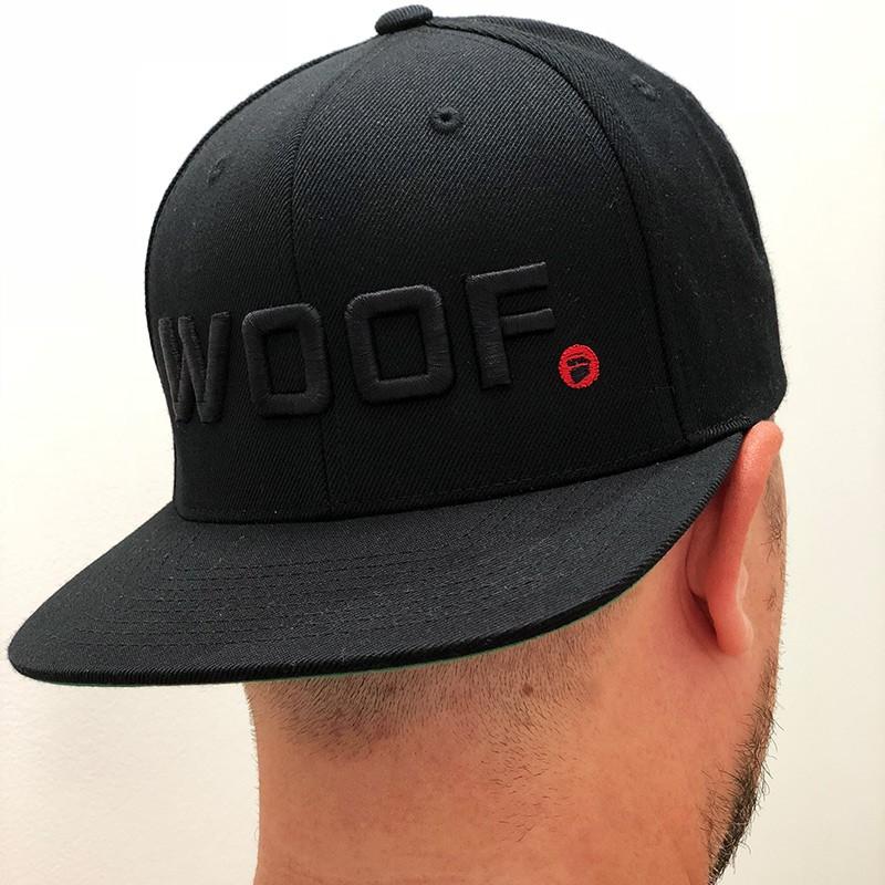 WOOF Snapback (Black)